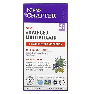 Купить Chapter улучшенный мультивитаминный комплекс для мужчин, 120вегетарианские таблетки