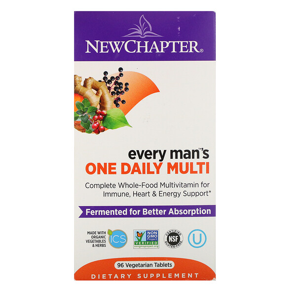 Every Man's One Daily Multi, 96 Vegetarian Tablets