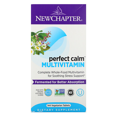 Фото - Perfect Calm Multivitamin, 144 Vegetarian Tablets ncr 12k1 gp