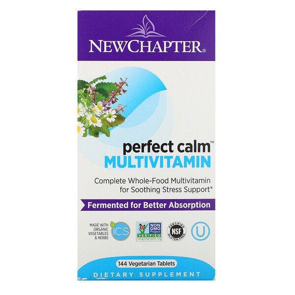 Perfect Calm Multivitamin, 144 Vegetarian Tablets