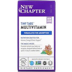 New Chapter, 小片多維生素,全食多維生素素食營養片,192 片