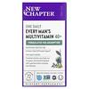 New Chapter, 40+ Every Man™ 男性每日一片天然食物素食复合维生素,72 片素食片