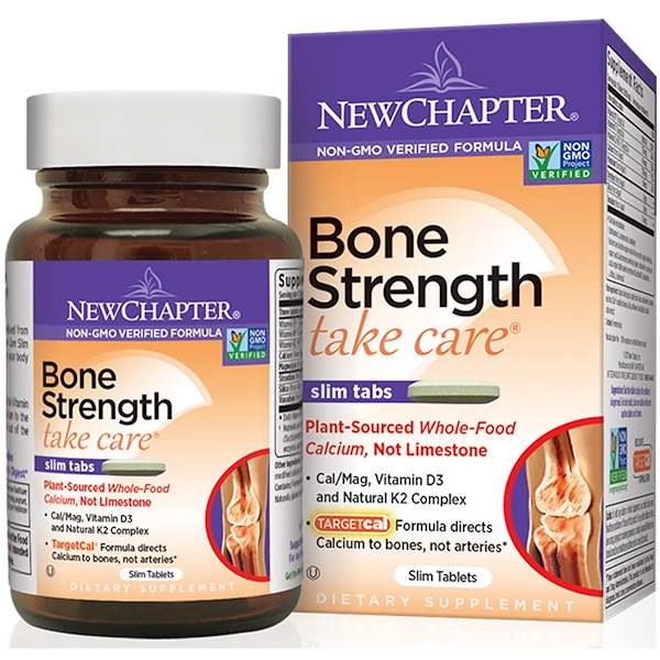 New Chapter, Bone Strength Take Care, 30 Slim Tablets (Discontinued Item)