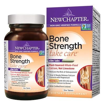 Купить Bone Strength Take Care, комплекс по уходу за костными тканями, 60 плоских таблеток