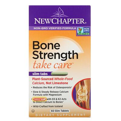 Bone Strength Take Care, комплекс по уходу за костными тканями, 60 плоских таблеток