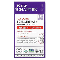 New Chapter, 骨骼強度呵護,60 片素食薄片