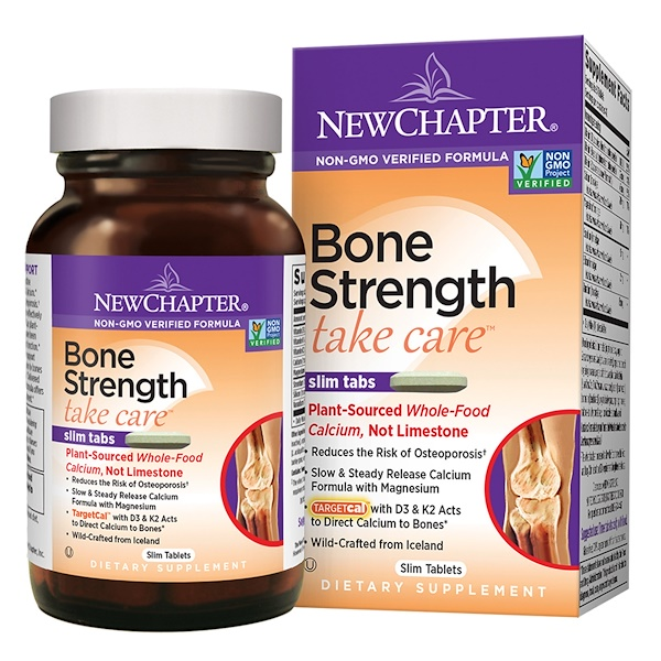New Chapter, Bone Strength Take Care, 60 Slim Tablets