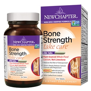 New Chapter, Bone Strength Take Care, 120  Slim Tablets