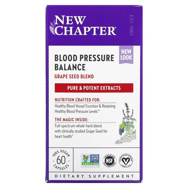 Blood Pressure Balance, 60 Vegan Capsules