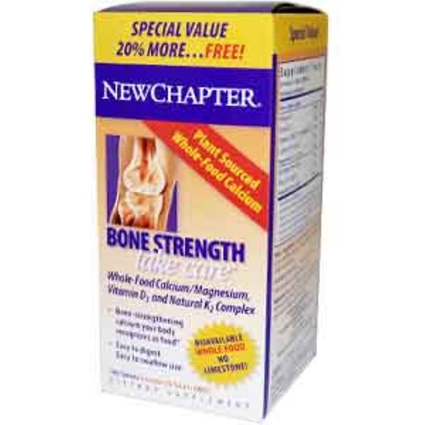 New Chapter, Bone Strength Take Care, 144 Tablets (Discontinued Item)