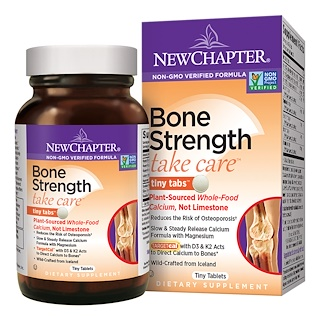 New Chapter, Bone Strength Take Care, 240 Tiny Tablets