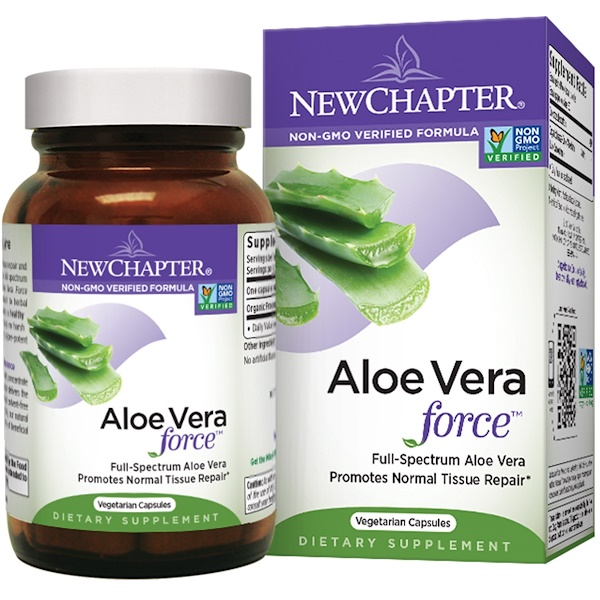 New Chapter,  Aloe Vera Force, 60 Veggie Caps (Discontinued Item)