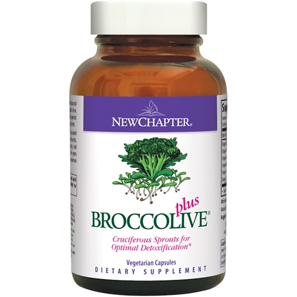 New Chapter, Broccolive Plus, 90 Veggie Caps (Discontinued Item)