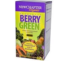Органические зеленые ягоды, 180 капсул в растительной оболочке - фото