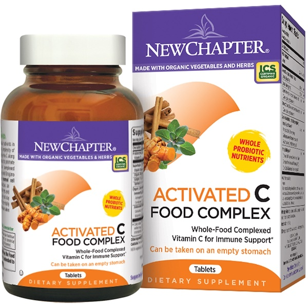 New Chapter, Activated C Food Complex, 90 Tablets (Discontinued Item)