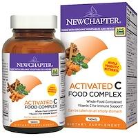 Активированный пищевой комплекс с витамином С, 180 вегетарианских таблеток - фото