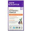 New Chapter, Complejo activado y fermentado de vitaminaC, 180comprimidos vegetales