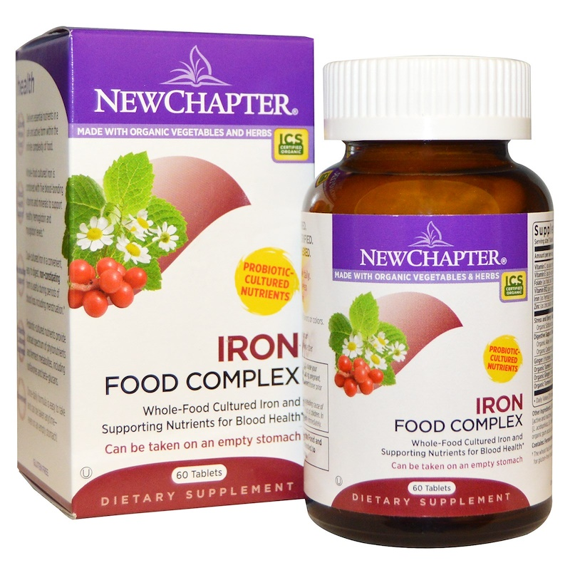 Iron, Food Complex, 60 Tablets