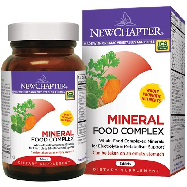 New Chapter, Mineral Food Complex, 90 Tablets (Discontinued Item)