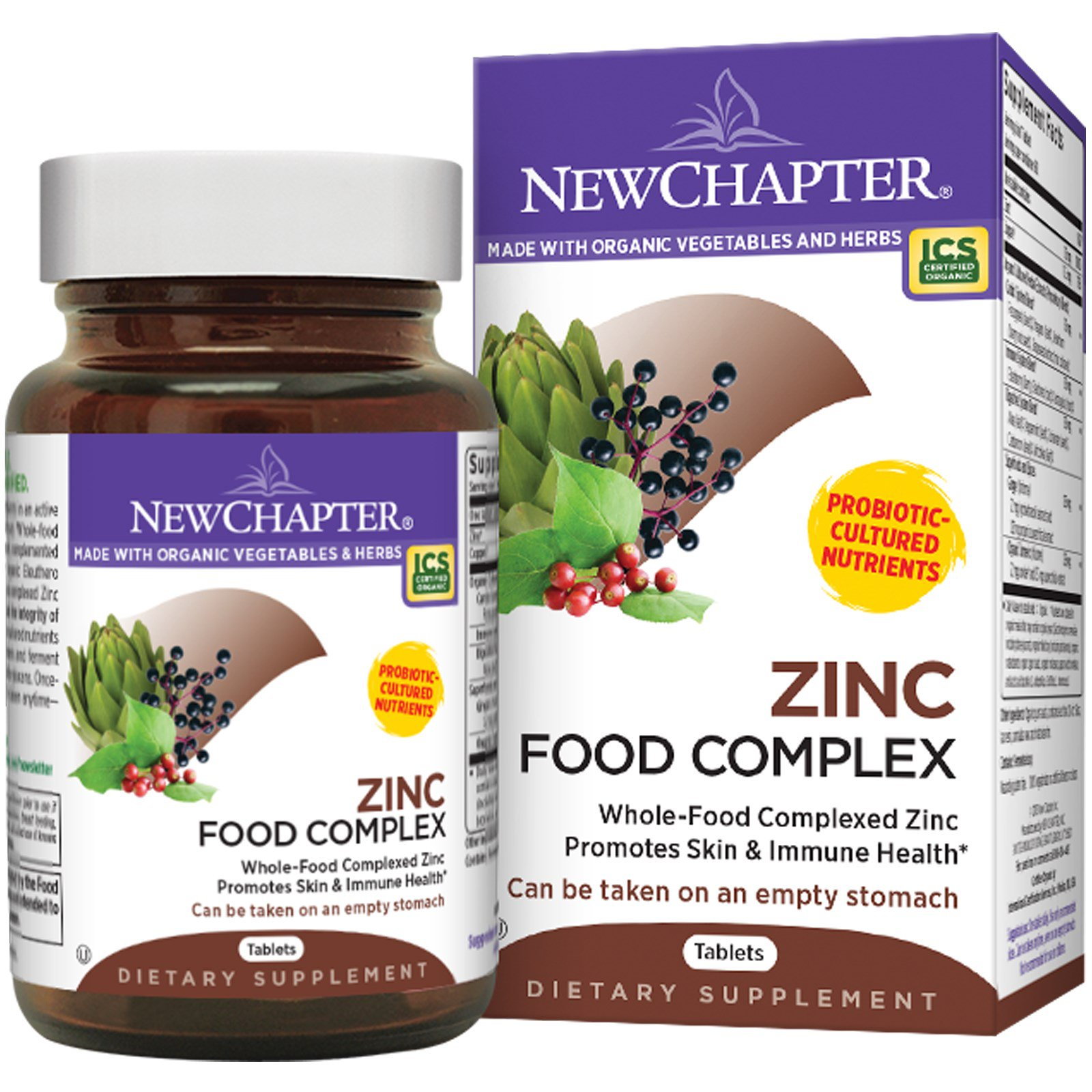 Vegetables Contain Zinc New chapter zinc food complex 60 tablets iherb new chapter zinc food complex 60 tablets workwithnaturefo