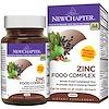 New Chapter, Zinc Food Complex, 60 Tablets