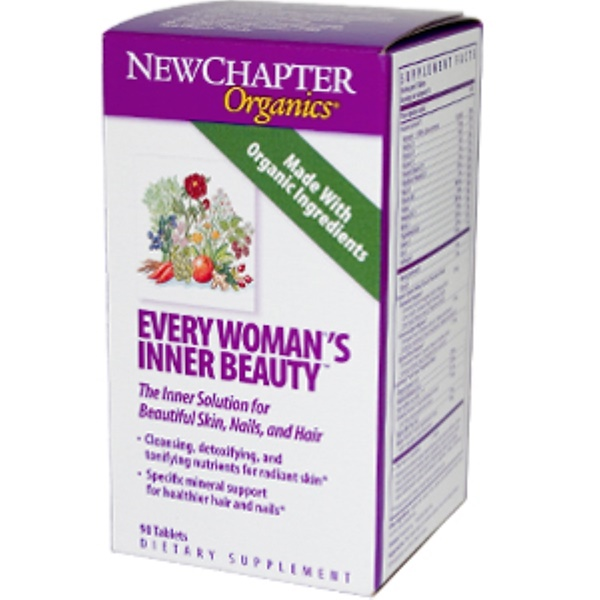 New Chapter, Every Woman's Inner Beauty, 90 Tablets (Discontinued Item)