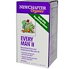 New Chapter, Organics, Every Man II, 180 Tablets (Discontinued Item)