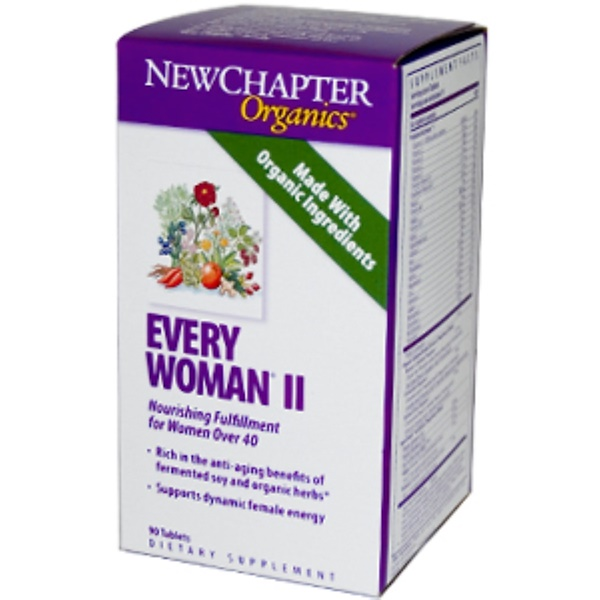 New Chapter, Organics, Every Woman II, 90 Tablets (Discontinued Item)