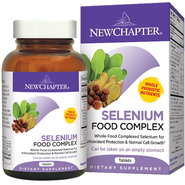 New Chapter, Selenium Food Complex, 90 Tablets (Discontinued Item)