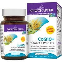 Коэнзим Q10 + питательный комплекс, 60 капсул в растительной оболочке - фото
