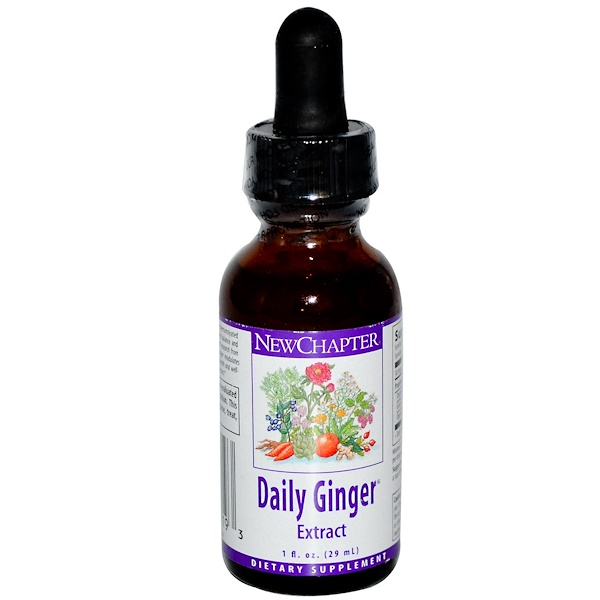 New Chapter, Daily Ginger Extract, 1 fl oz (29 ml) (Discontinued Item)