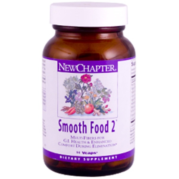 New Chapter, Smooth Food 2, 90 Vcaps (Discontinued Item)
