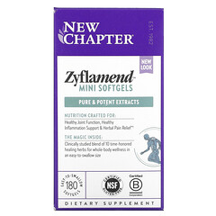 New Chapter, Zyflamend 全身營養支持膠囊,180 粒軟凝膠