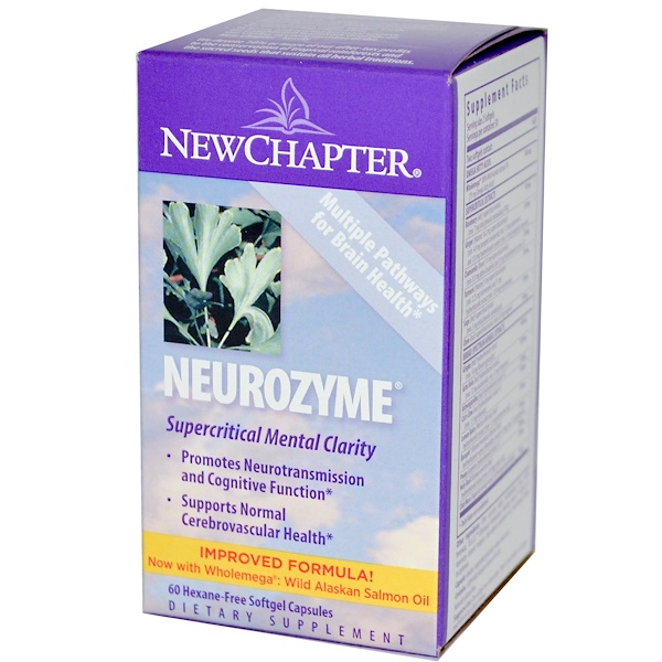 New Chapter, Neurozyme, 60 Softgel Capsules (Discontinued Item)