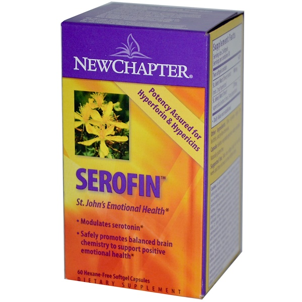 New Chapter, Serofin, 60 Softgel Capsules (Discontinued Item)