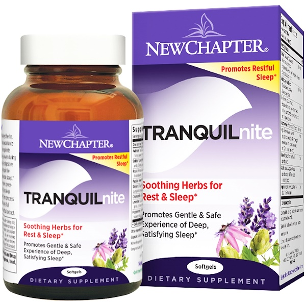 New Chapter, Tranquilnite, 30 Softgels (Discontinued Item)