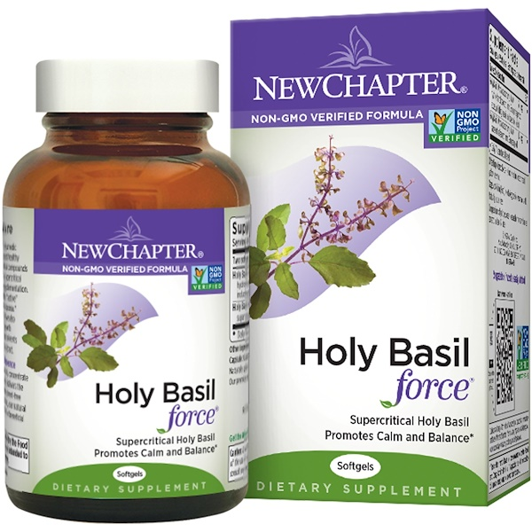 New Chapter, Holy Basil Force, 120 Softgels (Discontinued Item)