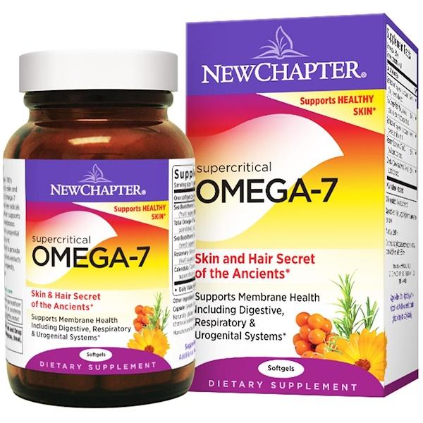 New Chapter, Supercritical Omega-7, 30 Softgels (Discontinued Item)