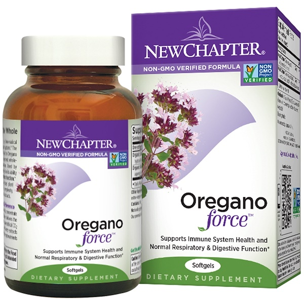 New Chapter, Oregano Force, 30 Softgels (Discontinued Item)