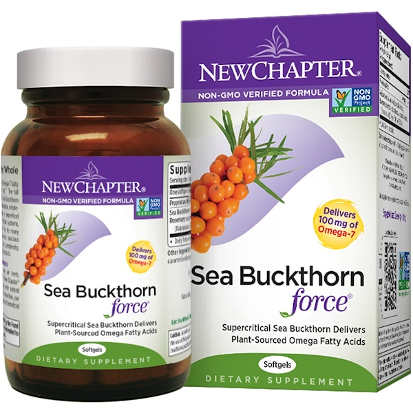 New Chapter, Sea Buckthorn Force, 60 Softgels (Discontinued Item)