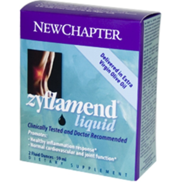 New Chapter, Zyflamend Liquid, 2 fl oz (59 ml) (Discontinued Item)