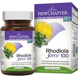 Нью Чэптэ, Rhodiola Force 100, 30 Veggie Caps отзывы покупателей