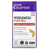 New Chapter, Wholemega Fish Oil, 180 Softgels