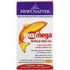 New Chapter, Wholemega Whole Fish Oil, 1,000 mg, 60 Softgels