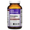 New Chapter, Wholemega Fish Oil, 120 Softgels
