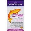 New Chapter, Wholemega For Moms, 500 mg, 90 Softgels