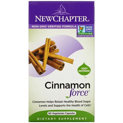Купить Chapter Cinnamon Force, 60 Vegetarian Capsules