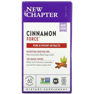 New Chapter, Cinnamon Force, 60 Vegetarian Capsules