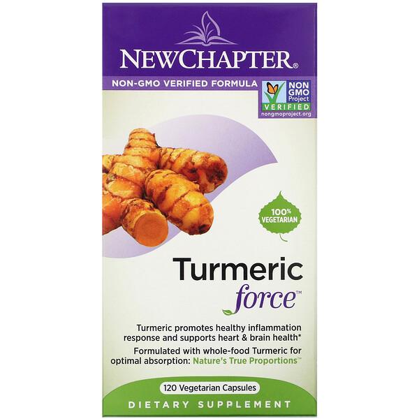 Turmeric Force, 120 Cápsulas Vegetais