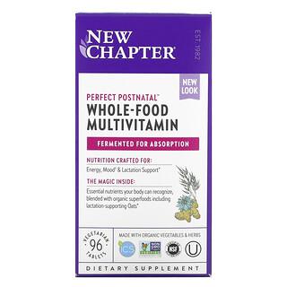 New Chapter, 優質產後全食多維生素,96 片素食片